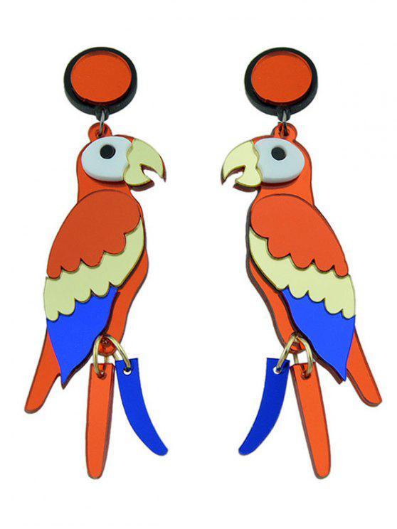 Boucles d'oreilles Parrot Bird - Multicolore
