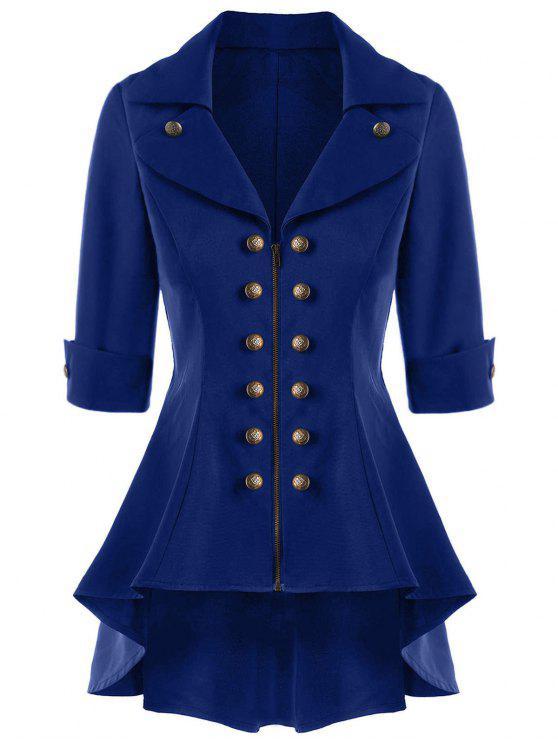 معطف الخندق توهج عالية انخفاض - البحريه الزرقاء XL