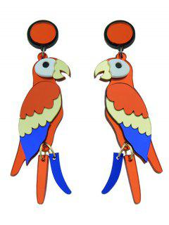 Parrot Bird Earrings