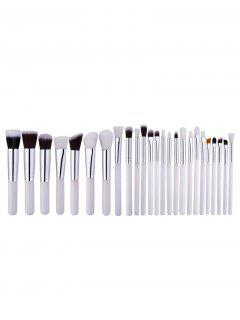 Multipurpose Mini Makeup Brushes Set - White