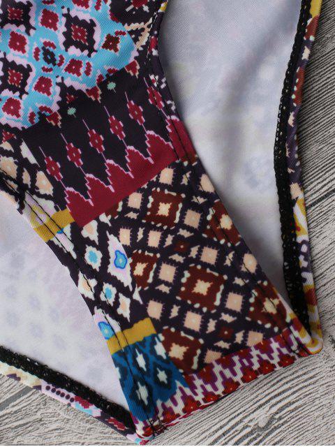 Cami Maillot de Bain 1 Pièce Imprimé Tribal - Multicolore L Mobile
