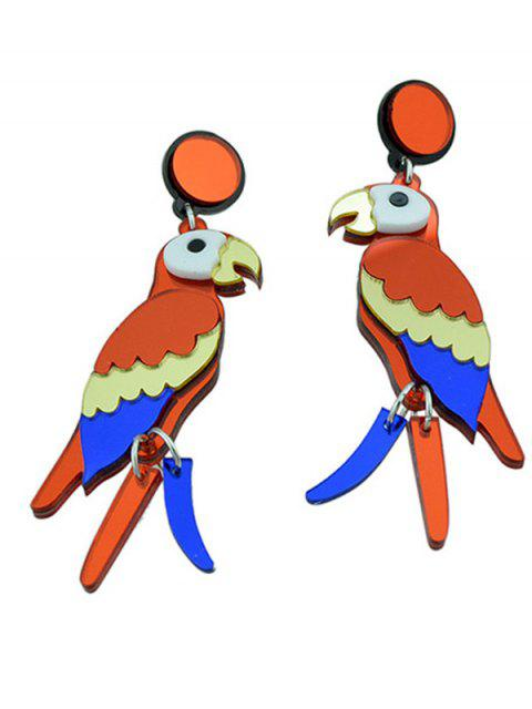 Boucles d'oreilles Parrot Bird - Multicolore  Mobile