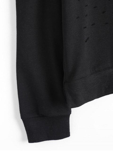 T-shirt à l'épave - Noir L Mobile