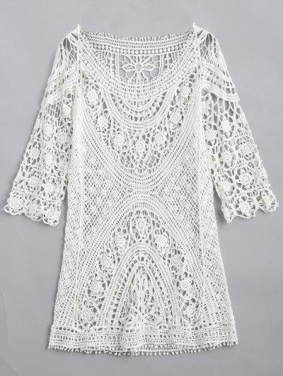 Crochet Cut Out Knitwear