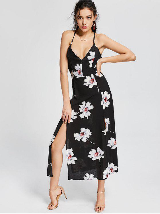 Robe à manches longues - Floral L