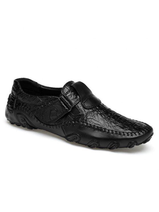 أحذية مريحة مبرزة سهلة للارتداء - أسود 42