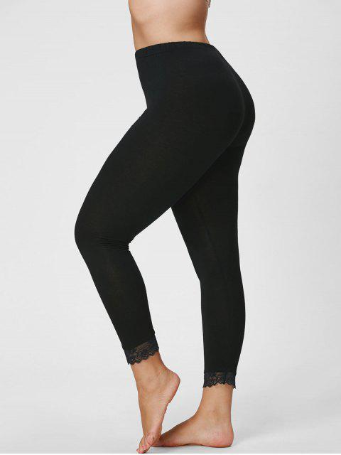 Leggings de Capri - Negro 4XL Mobile