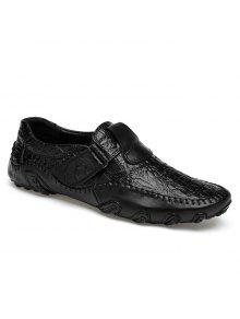 أحذية مريحة مبرزة سهلة للارتداء - أسود 44