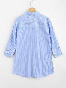 Rayada Raya Remendada S Camisa Larga Floral IgwAE5xqE