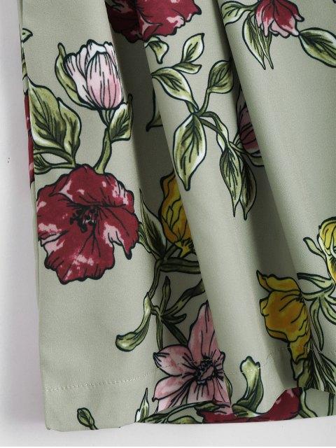 Shorts à taille haute - Floral S Mobile