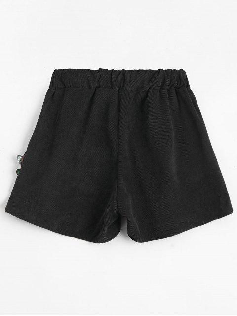 Shorts de taille haute - Noir TAILLE MOYENNE Mobile