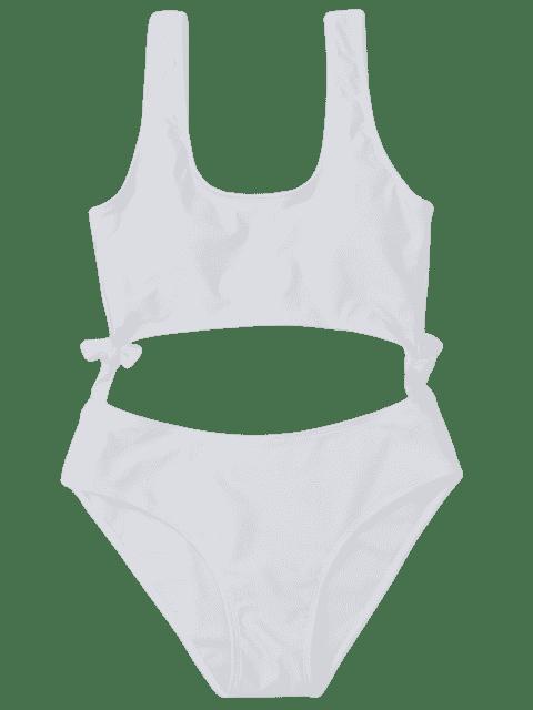 Maillot de bain Bowknot - Blanc M Mobile