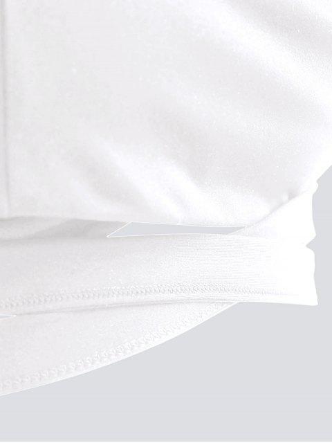 Dessus de yoga Active Wrap Pad - Blanc L Mobile