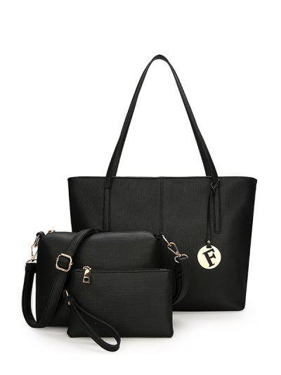 Image of 3 Pieces PU Leather Shoulder Bag Set