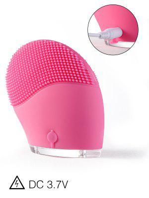 Electric Massage Silicone Facial Cleansing Brush Device - Tutti Frutti