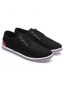 أدنى حذاء قماش أعلى - أسود 43