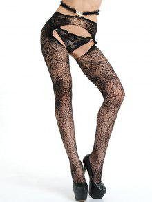 d88a9665d37f7b Crotchless Lace Fishnet Tights; Crotchless Lace Fishnet Tights ...