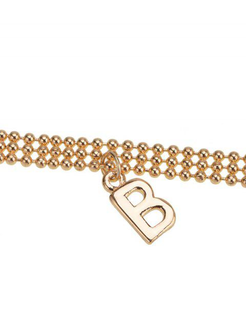 sale BABY Choker Necklace - GOLDEN  Mobile