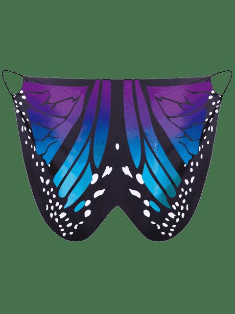 Robe de dessus - Bleu + Violet 2XL Mobile