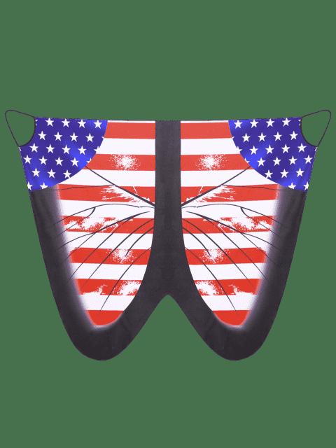Robe de dessus - Drapeau de US 5XL Mobile