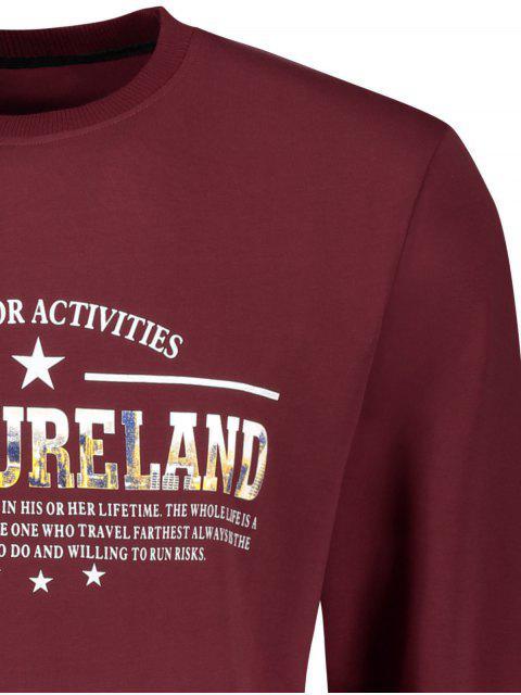 T-shirt à manches courtes Treasureland Graphic - Rouge Foncé L Mobile