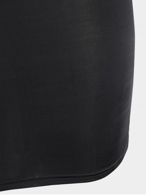 Robe Bodycon - Noir 2XL Mobile