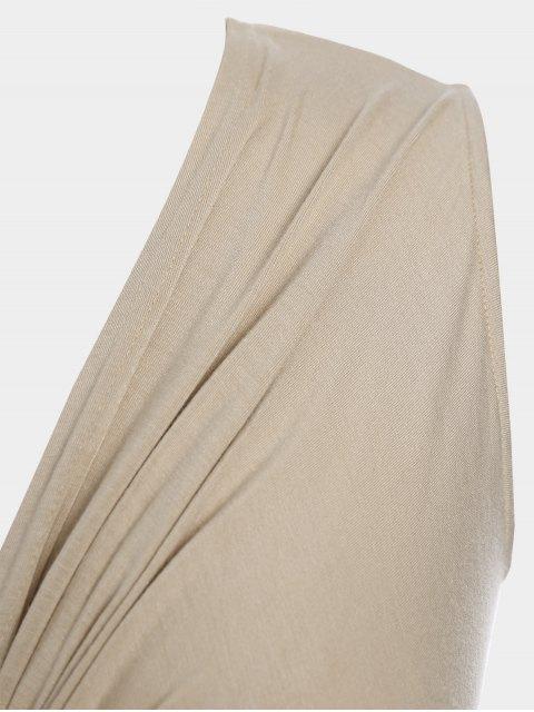 Robe Twist Plus Size - Abricot 2XL Mobile