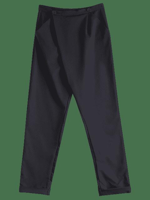 Noir Casual taille haute Neuf Minutes de Harem Pant - Noir L Mobile