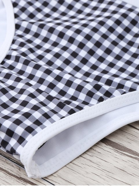 best Checked Bikini Set - CHECKED S Mobile