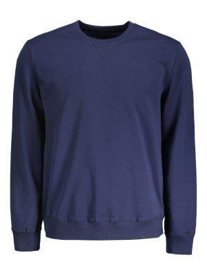 Camiseta De Cuello Redondo Para Hombre - Azul Purpúreo 2xl