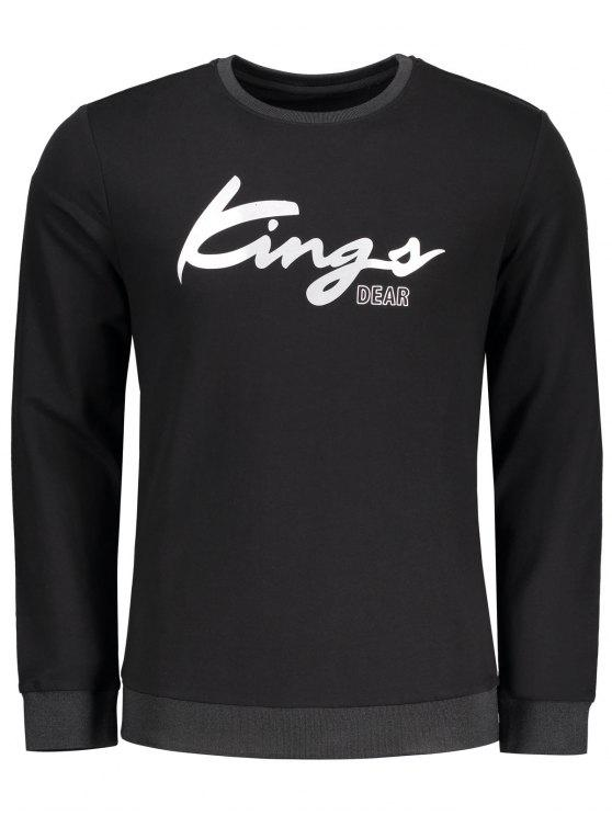 buy Graphic Kings Sweatshirt - BLACK 2XL