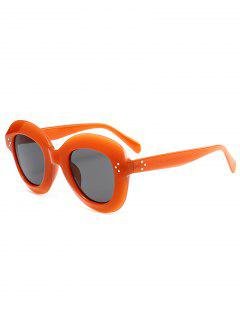 Gafas De Sol Con Marco Amplio Ombre Street Snap - Burdeos