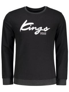 Graphic Kings Sweatshirt - Black Xl