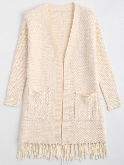 Open Front Cardigan @...