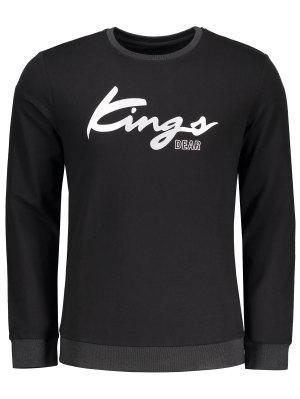 Camiseta Gráfica De Los Reyes - Negro - Negro M