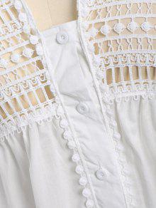 A Corte Tama o Blusa Blanco De 2xl 225;ser Plus L EB5pnqxH