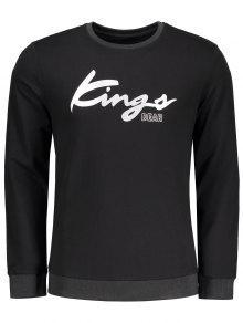 Graphic Kings Sweatshirt - Black M