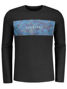 Pentagram Pullover Soldiery Sweatshirt - Black M