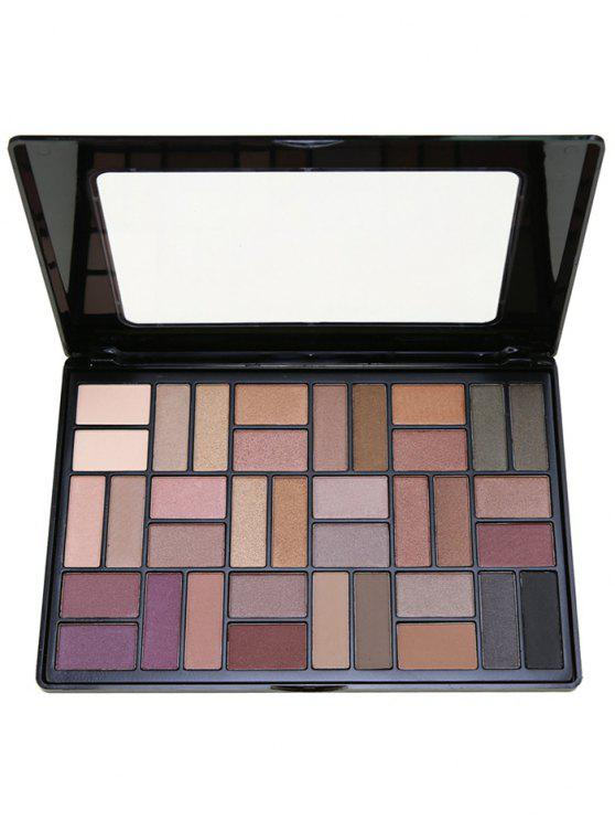 outfits 36 Colors Smoky Eyeshadow Palette - #01