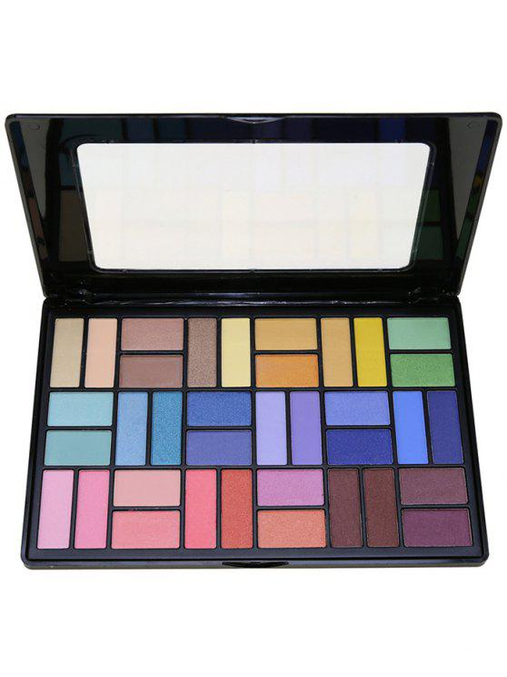 shop 36 Colors Smoky Eyeshadow Palette - #02