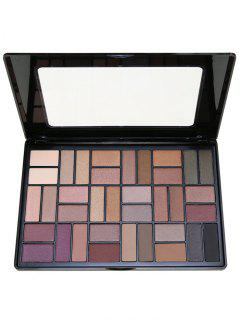 36 Colors Smoky Eyeshadow Palette - #01