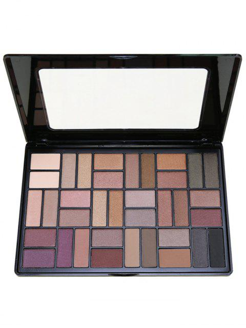 outfits 36 Colors Smoky Eyeshadow Palette - #01  Mobile