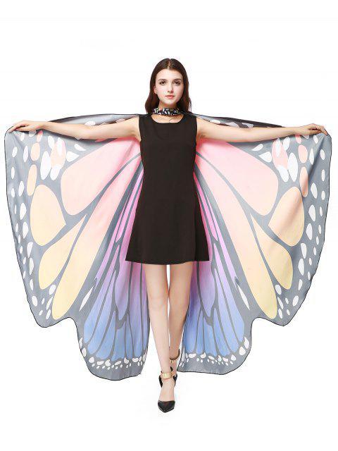 Chiffon Butterfly Strap Shape Wing Cape - Frutti de Tutti  Mobile