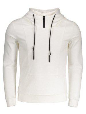Hocher Pullover Hoodie - Weiß - Weiß 2xl