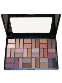 36 Colores Paleta Ahumada Del Sombreador De Ojos - 01 #