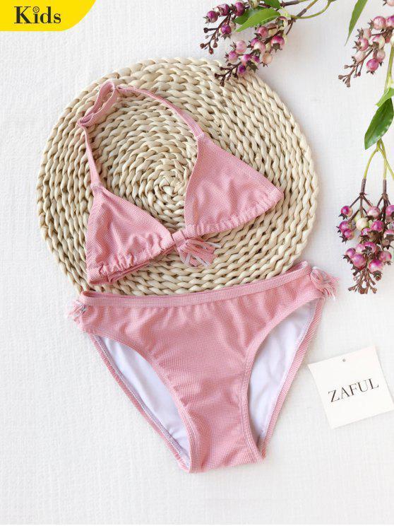 Bikini Enfant - Rouge 7T