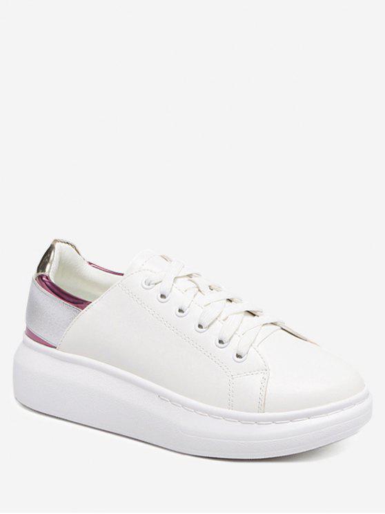 Zapatillas de deporte del bloque de la plataforma - Púrpura 40