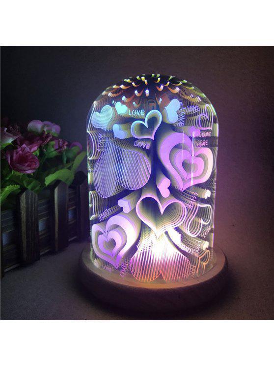 3d، غني بالوان، القلوب زجاج، الظل الليل، ليت - ملون