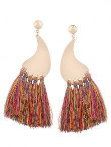 Statement Long Tassel Earrings