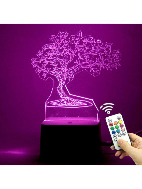 31 Off 2019 3d Tree Shape Color Change Remote Control Night Light